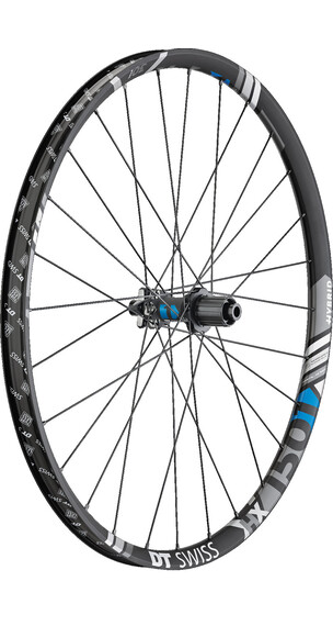 "DT Swiss HX 1501 Spline One Hinterrad 27,5"" Hybrid Boost 30mm schwarz"
